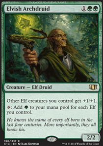 Elvish Archdruid Commander 2014